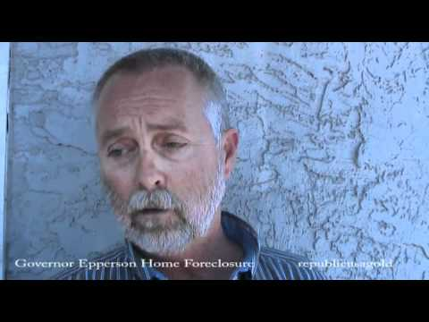 De Jure Govenor Epperson foreclosure