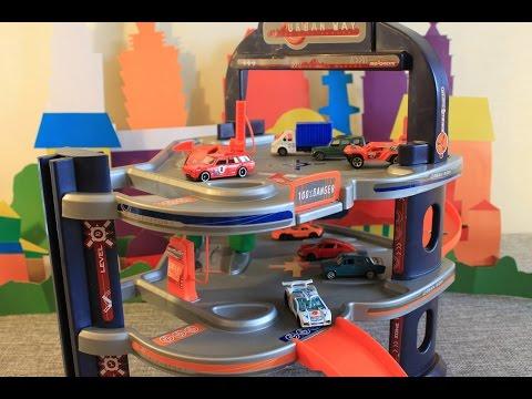 Мультики про машинки, Парковка для машинок, парковка Majorette, Игры для детей