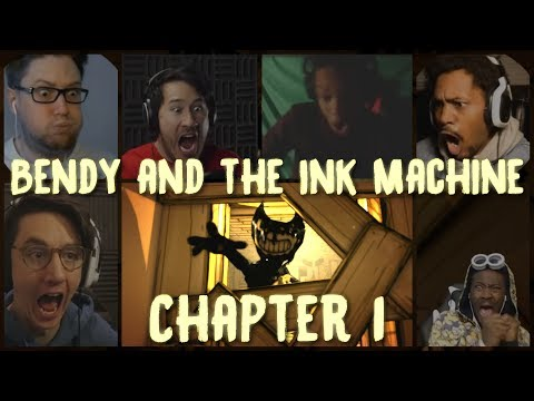 Bendy and the Ink Machine - Chapter 1 (Reactions)