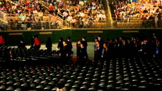 2012 Valencia College Graduation - entering the arena :)