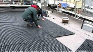 גנרון פיילוט גג ירוק - חברת חשמל 2013 Ganron Green Roof Pilot - Israeli Electric Corp