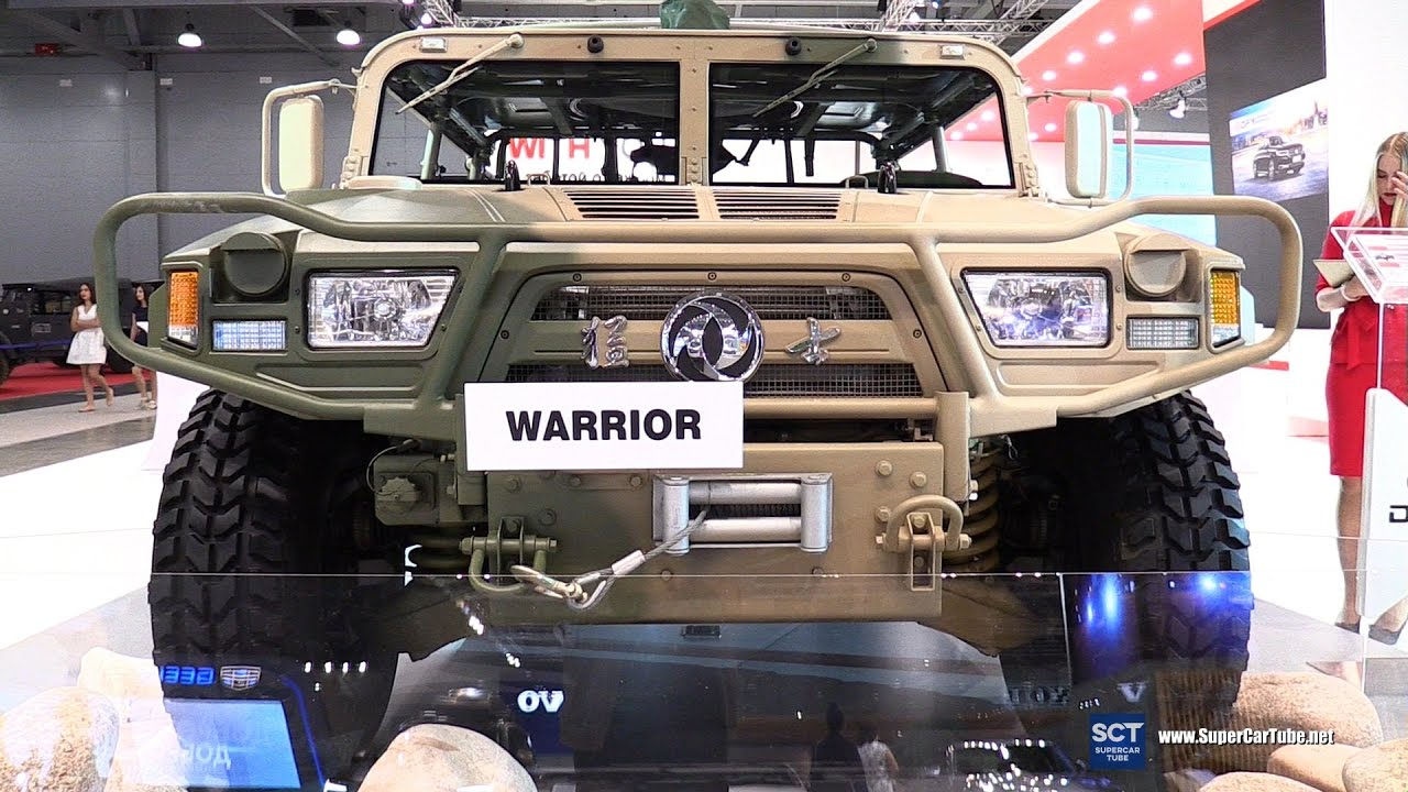 2016 DFM Warrior Dongfeng Motors   Exterior and Interior Walkaround   2016 Moscow Automobile Salon
