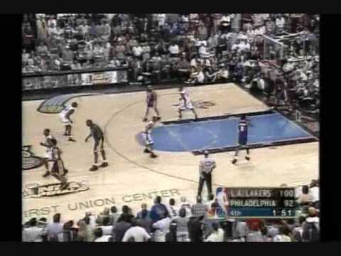 2001 NBA Finals: Lakers at Sixers, Gm 5 part 11/12