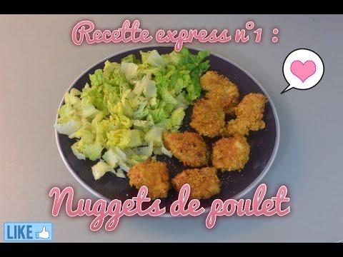 [recette-healthy-n°2]-nuggets-de-poulet!