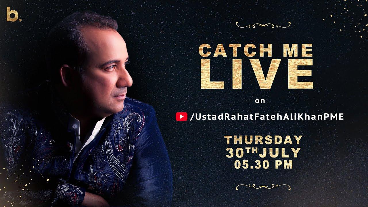 Ustad Rahat Fateh Ali Khan | YouTube Live Session | Gham-e-Ashiqui - 30th July 2020
