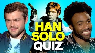 Solo Cast Takes the Ultimate Han Solo Star Wars Quiz