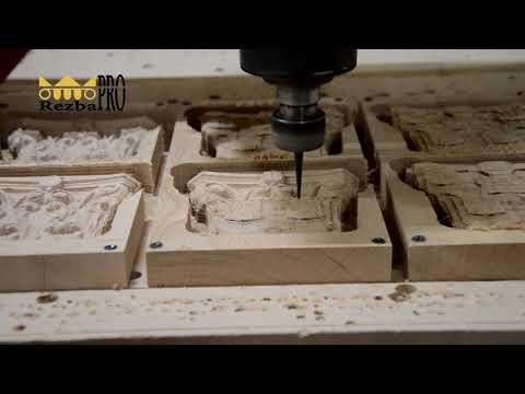 Производство деревянной резной капители на станке ЧПУ