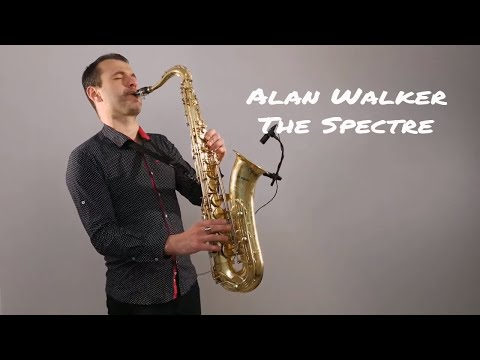 Alan Walker - The Spectre Saxophone Cover by Juozas Kuraitis