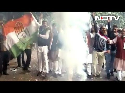 Assembly Election Results 2018 - Congress Gains In 2 States, Madhya Pradesh Close, KCR Is Gold