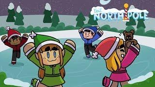 Merkowe Przygotowania do Świąt • Roblox - North Pole Simulator  /w Piter  •