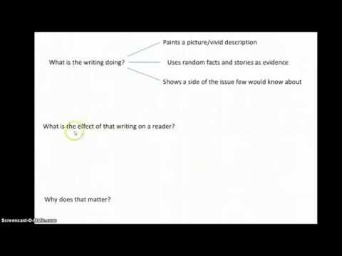 Tips for Writing a Textual Analysis Paper