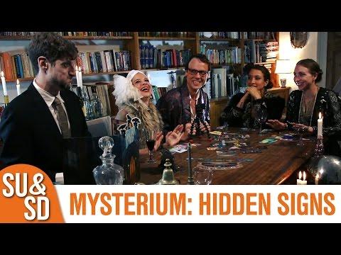 SU&SD Play Mysterium: Hidden Signs