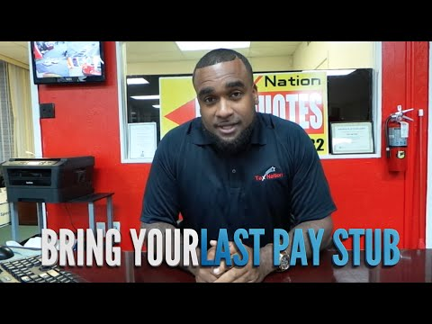 Tax Nation: Bring Your Last Pay Stub