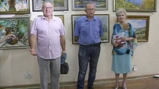 Александр Клочков о выставке ''На земле шахтинской'' 8.08.17