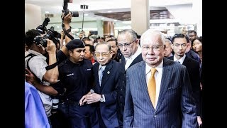 Najib ordered to enter defence on all 7 charges involving abuse of SRC Int'l funds