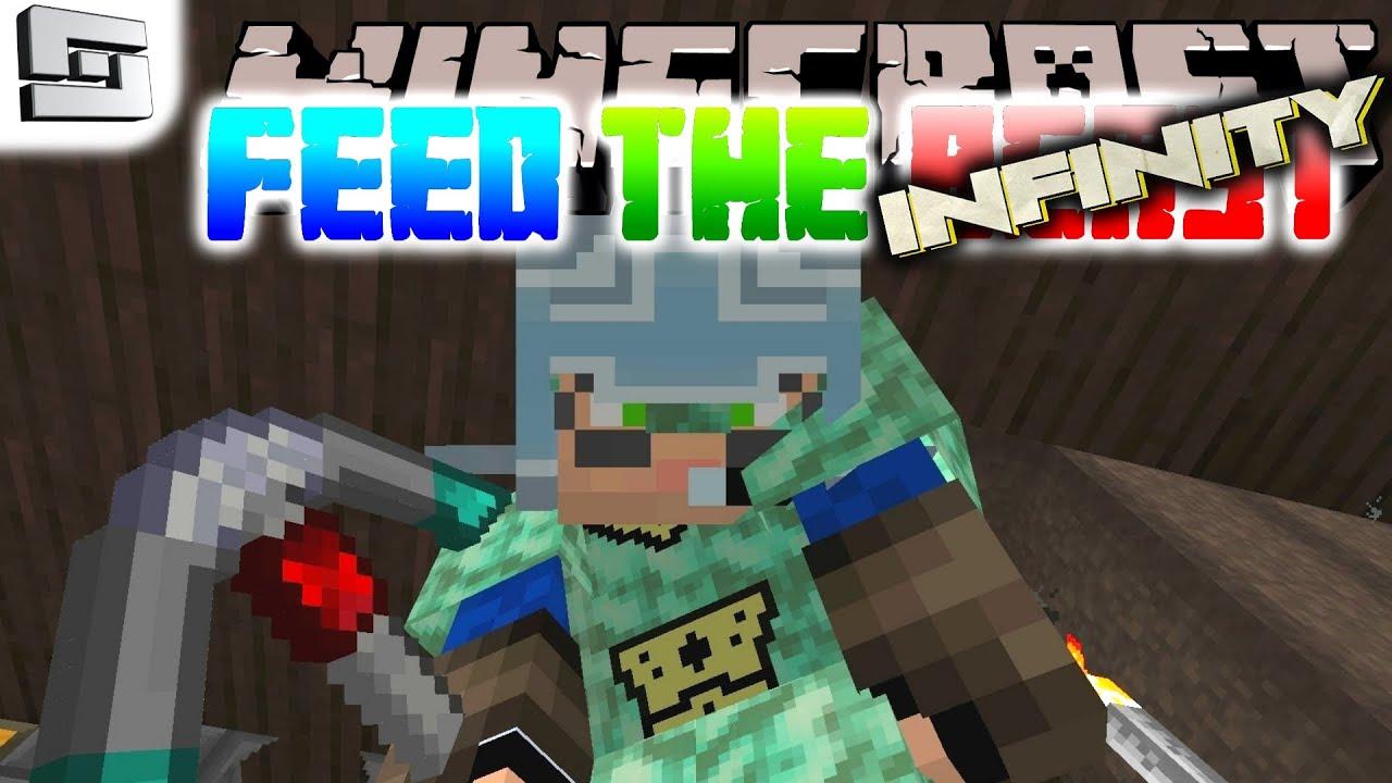 Minecraft FTB Infinity - WYVERN ARMOR!!! ( Hermitcraft Feed The Beast E10 )