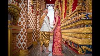 Свадьба за границей  Свадьба в Таиланде Александр Кристина