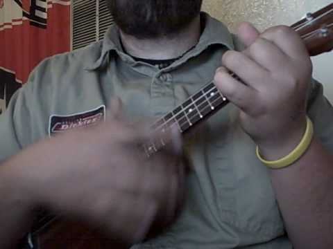 I\'d Go the) Whole Wide World - Wreckless Eric (uke cover) - YouTube