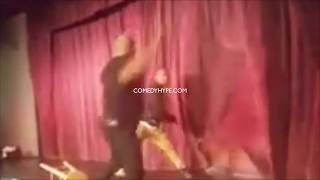 Comedian Attacked On Stage Steve Brown Vs Fan At The Comedy House