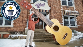 Largest Ukulele  - Guinness World Records
