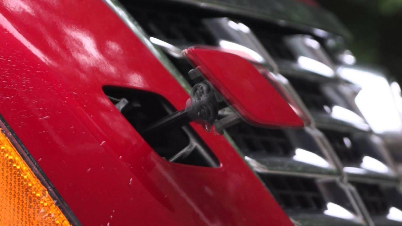2010 Cadillac Srx Headlight Washer Youtube
