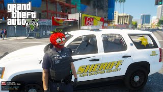 Officer Strawbaby's FIRST DAY! Police Mod (GTA 5 Mods)