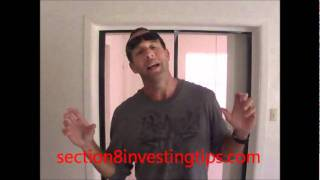 Section 8 Investing Tips (Bed Door)
