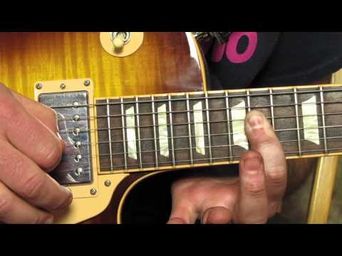 Queen - We Will Rock You - How to Play the Guitar Solo Lesson - Guitar Lessons