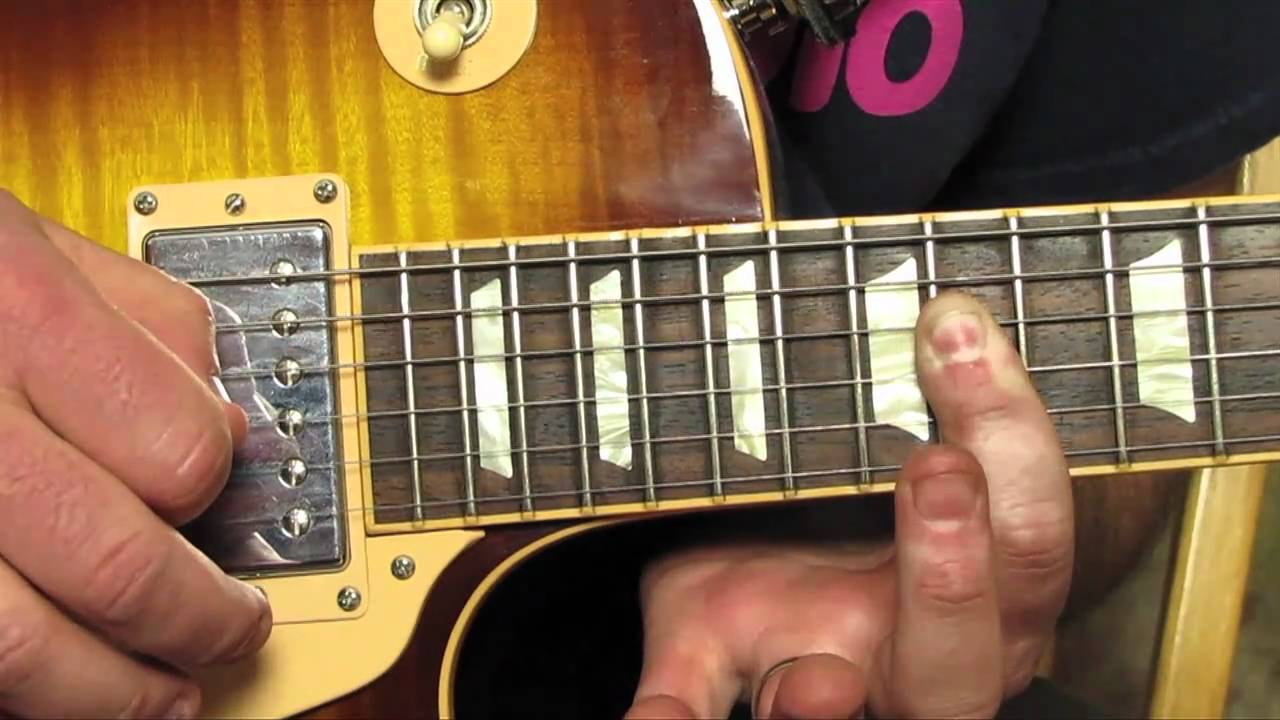 Queen We Will Rock You How To Play The Guitar Solo Lesson