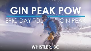 INSANE Backcountry Ski Day, Gin Peak Whistler - VLOG #19
