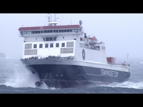 Severe Gale 9 | Ben My Chree | Arrival in Douglas
