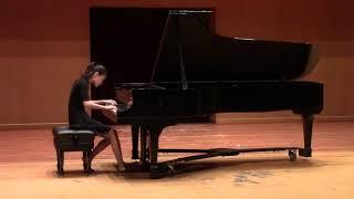 Theme and Variations in C Major, Hob  XVII 5, Joseph Haydn. Playing Qiaoni Liu