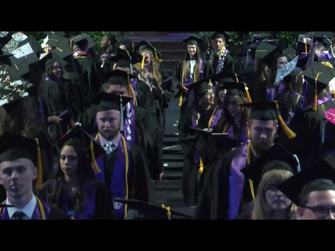 Traditional Spring Commencement April 26, 2018 7PM