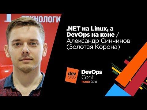 .NET на Linux, а DevOps на коне / Александр Синчинов (Золотая Корона)