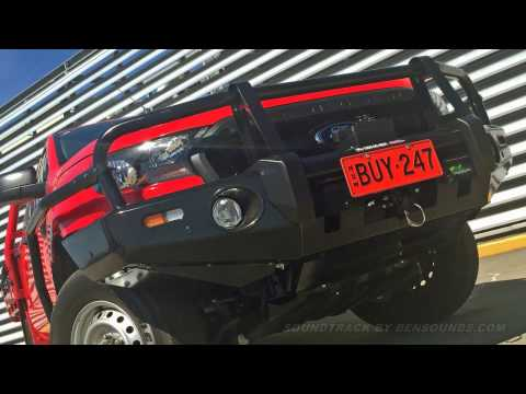 Ford PX Ranger Ironman Bull Bar & Winch Install