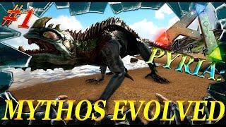 ARK: Survival Evolved мод Pyria: Mythos Evolved (моды в Арк Сурвайвал)