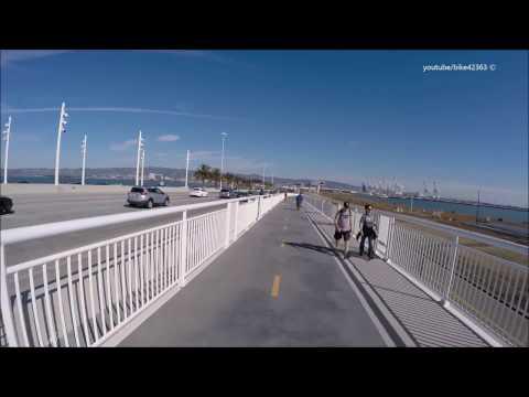 Bay Bridge Bike Path Yerba Buena Island to Oakland Opening From San Francisco