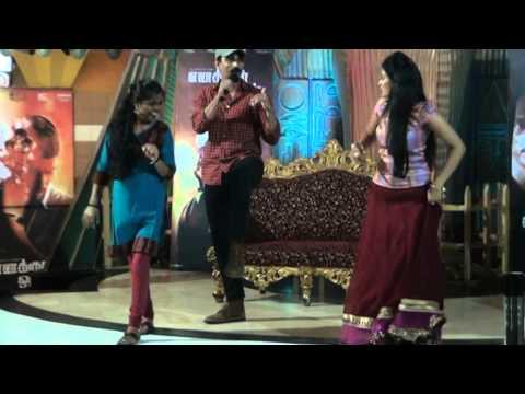 Actor Siddharth sung a song Naanaga Naan Irunthen &Dance at Enakkul Oruvan Movie Promotion