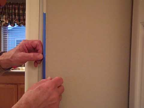 part 2 painting straight lines in corners or doing a
