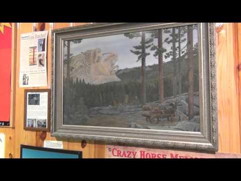 Crazy Horse Memorial Inside the Welcome Center South Dakota - August 2012