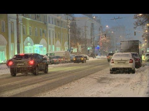 14 снежных ДТП произошло сегодня в Белгородской области