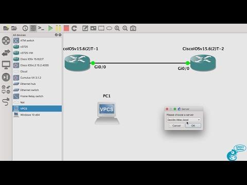 GNS3 2 0 New Feature: Select where VPCS runs