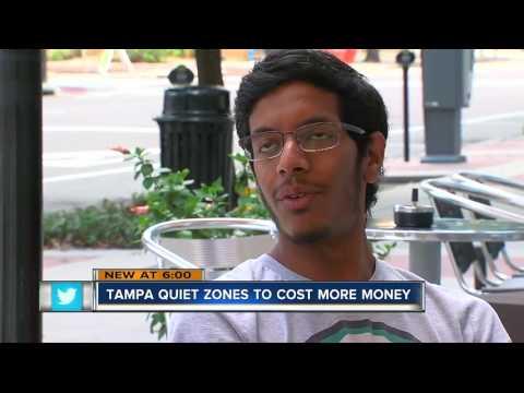 Tampa quiet zones to cost more money