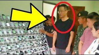 هذا الرجل شغل 500 هاتف في نفس الوقت فقبضت عليه شرطة ولسبب غريب جدا