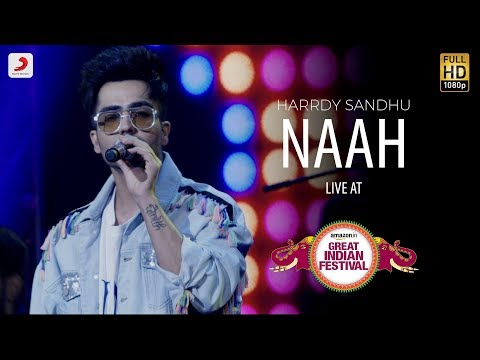Naah Live @ Amazon Great Indian Festival  Harrdy Sandhu