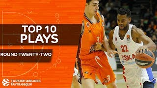 Top 10 Plays  - Turkish Airlines EuroLeague Regular Season Round 22