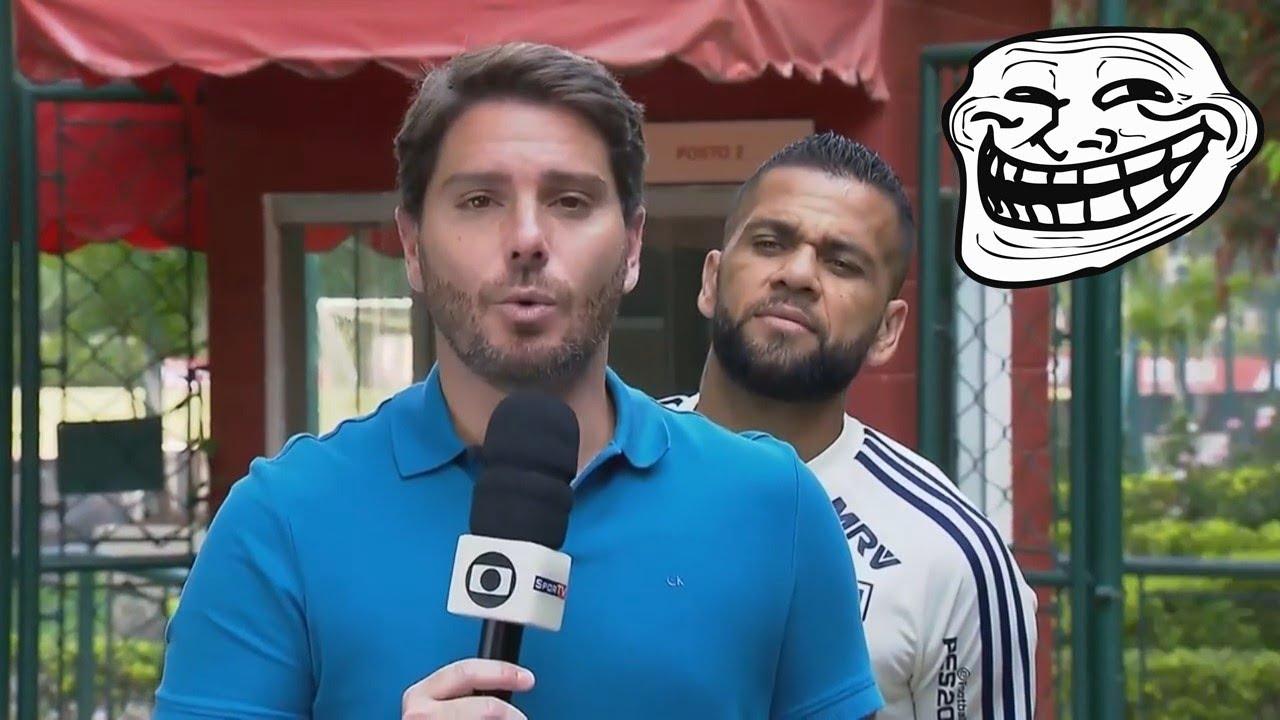 Futbolistas TROLLEANDO a Periodistas (Bromas, Besos, Pelotazos) ?