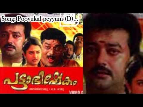 Poovukal Peyyum Lyrics - Pattabhishekam Malayalam Movie Songs Lyrics