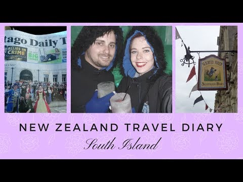 New Zealand travel vlog || South Island | Cayce Anne