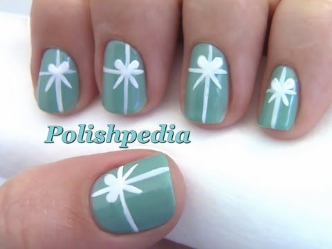 Tiffany S Christmas Present Nail Art